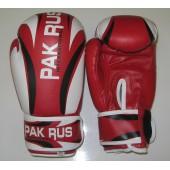 Перчатки боксерские Pak Rus, искусственная кожа, 8 OZ, PR-11-014