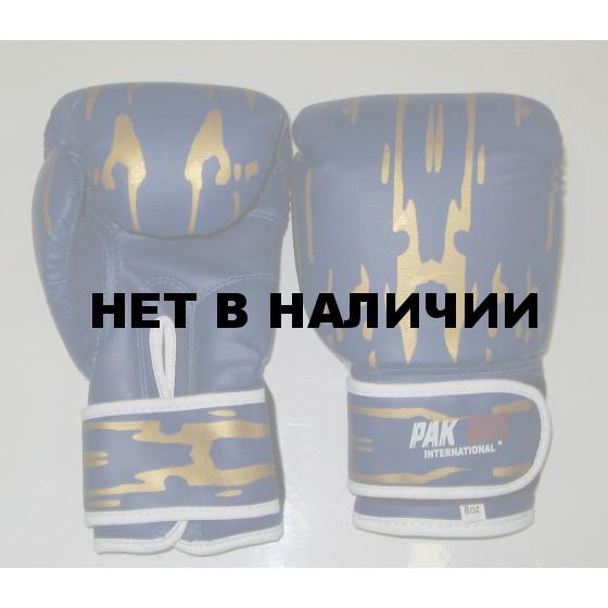 Перчатки боксерские Pak Rus, искусственная кожа, 8 OZ, PR-11-015