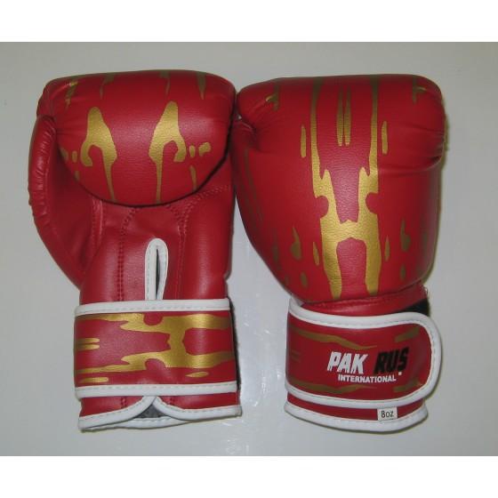 Перчатки боксерские Pak Rus, искусственная кожа, 4 OZ, PR-11-015