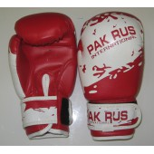 Перчатки боксерские Pak Rus, искусственная кожа, 6 OZ, PR-11-012
