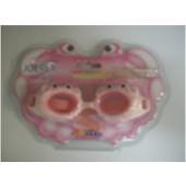 Очки для плавания детские Joerex в форме краба SSM1801