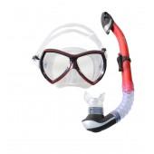 Набор маска,трубка WAVE MS-1380S57 силикон
