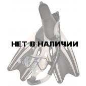 Набор маска,трубка,ласты WAVE MSF-1390S65F69 силикон,черный
