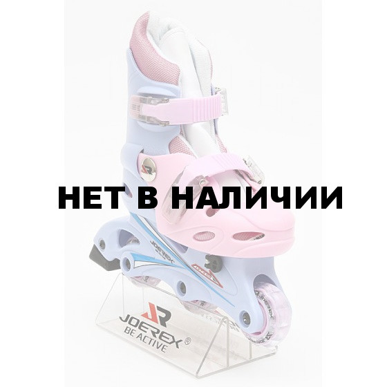 Роликовые коньки JOEREX RO0306 (синий/розовый)