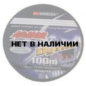 Леска плетеная Siweida Armor Dyneema 0,10 100м (5,50кг, серая)