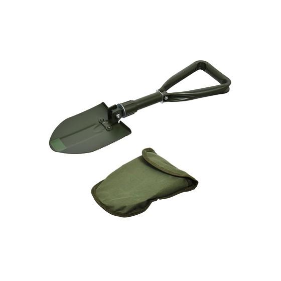 Лопата BOYSCOUT складная металлическая в чехле 61045