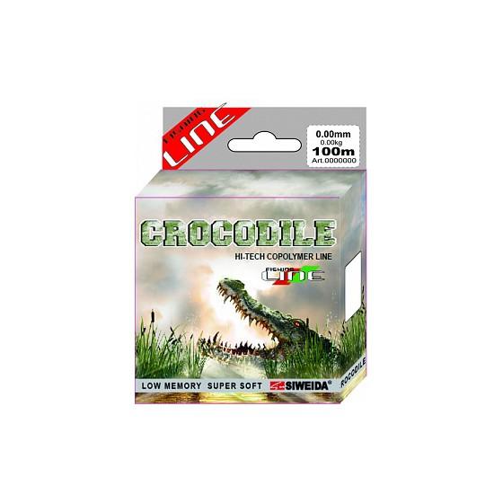 Леска SWD Crocodile 100м 0,35 (10,30кг) ваккум/уп прозрачная