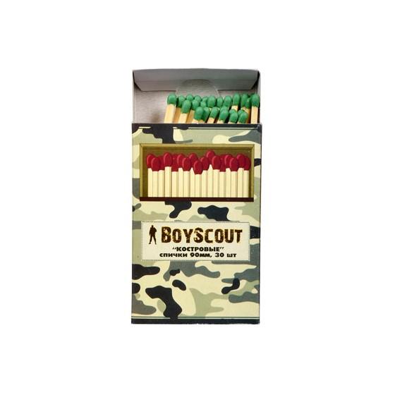 Спички BOYSCOUT Костровые 90мм (30шт) 61029