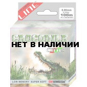 Леска SWD Crocodile 100м 0,18 (3,30кг) ваккум/уп прозрачная