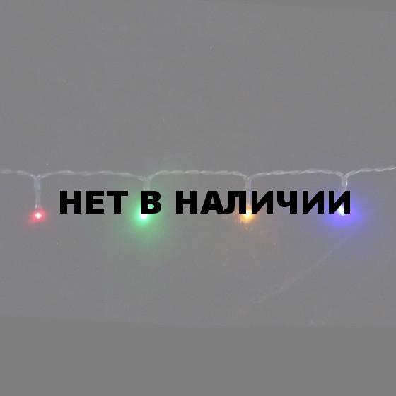 Светодиодная гирлянда на батарейках с таймером (мультиколор) Luca lights 83088 720 см