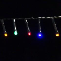 Светодиодная гирлянда на батарейках с таймером (мультиколор) Luca lights 83089 1440 см