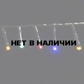 Светодиодная гирлянда на батарейках с таймером (мультиколор) Luca lights 83090 2760 см