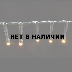 Светодиодная гирлянда на батарейках с таймером (теплый свет) Luca lights 83085 1440 см
