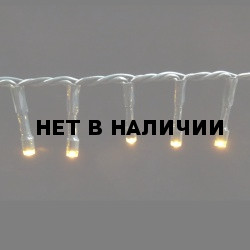 Светодиодная гирлянда на батарейках с таймером (теплый свет) Luca lights 83086 2760 см
