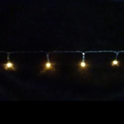 Светодиодная гирлянда на батарейках с таймером (теплый свет) Luca lights 83084 720 см