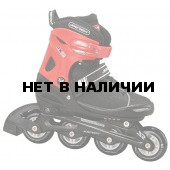 Роликовые коньки JOEREX JX6 (красный/черный)