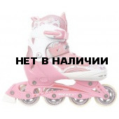 Роликовые коньки JOEREX JRH0704 раздвижные (розовый)