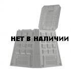 Компостер садовый 420 л Evogreen IKEV420C-S411 чёрный