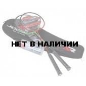 Набор для бадминтона Joerex JDA11508 (сталь) 2 ракетки и 3 волана в чехле