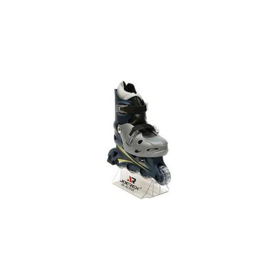 Роликовые коньки JOEREX RO0603 (серебро/черный)