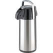 Термос La Playa с пневмонасосом и стеклянной колбой Lever Action Style Pot 2.2L steel (560015)