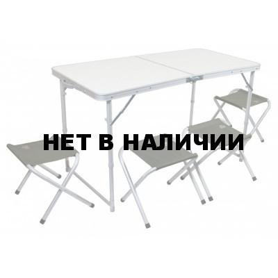 Набор мебели TREK PLANET(стол+4 стула) TA-21407+FS-21124