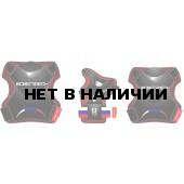 Набор защиты для роликов Joerex PR0901 черный