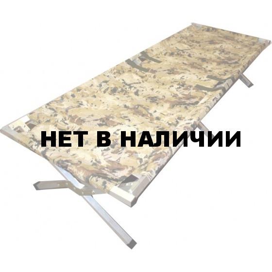 Кровать туристическая раскладушка Медведь 170 см. до 200 кг.