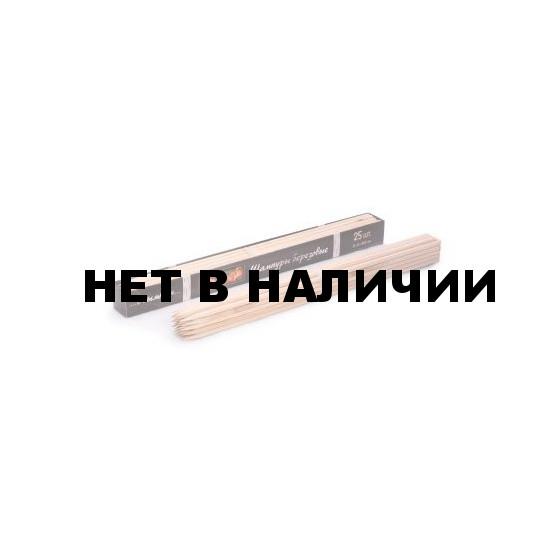 Шампуры из сибирской берёзы, одноразовые