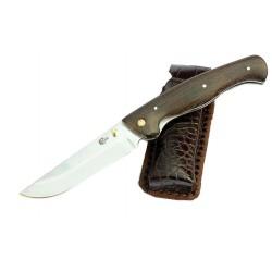 Нож Ворсма складной Сибиряк, сталь 95х18, дерево-венге (кузница Семина)