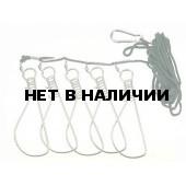 Кукан SWD 10 см. (5 карабинов) (3302042)