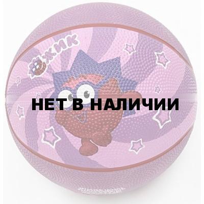 Мяч баскетбольный Смешарики №2 SMBA 102 ЕЖИК