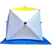 Палатка для зимней рыбалки Стэк Куб-2 двухслойная (дышащий верх)