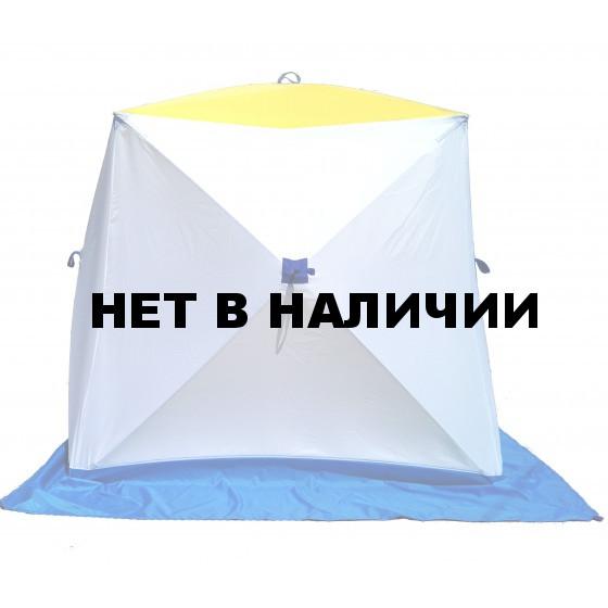 Палатка для зимней рыбалки Стэк Куб-1 двухслойная