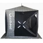 Зимняя палатка куб WOODLAND Ultra, трехслойная