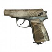 Пневматический пистолет Макарова МР-654камуфляж газобаллонный