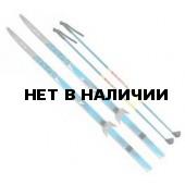 Лыжный комплект VISU (лыжи, палки, креплен. 75мм) 180 см step