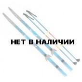 Лыжный комплект VISU (лыжи, палки, креплен. 75мм) 160 см step