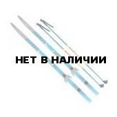 Лыжный комплект VISU (лыжи, палки, креплен. 75мм) 200 см step