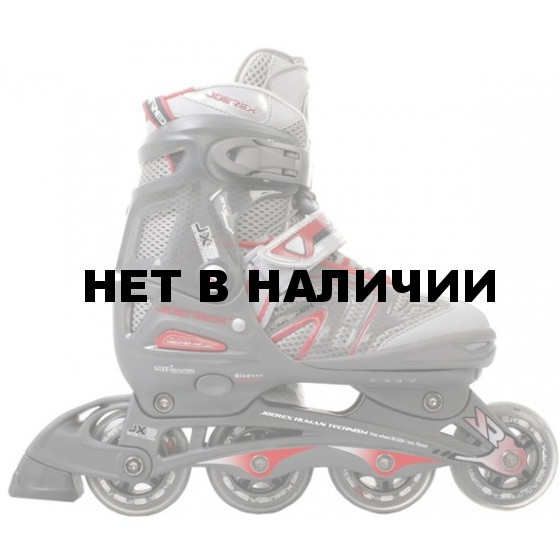 Роликовые коньки JOEREX JX5 (красный)