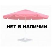 Зонт уличный с воланом Митек 3,5М круглый, стальной каркас, с подставкой