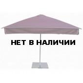 Зонт уличный с воланом Митек 2,5х2,5 м стальной каркас, с подставкой,стойка 50мм.