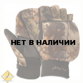 Перчатки-варежки флис км