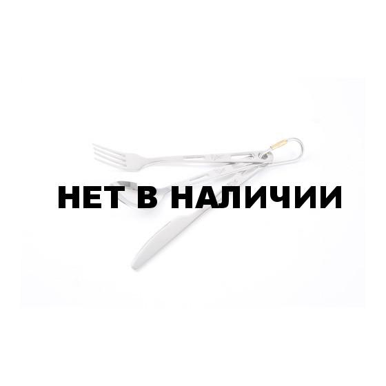 Набор из нержавеющей стали - вилка, ложка, нож Fire-Maple BD-130