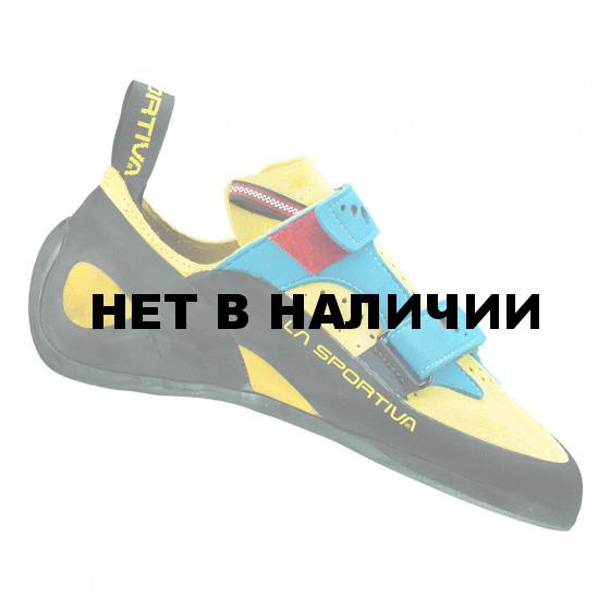 Универсальные скальные туфли La Sportiva Jeckyl VS Yellow/Blue