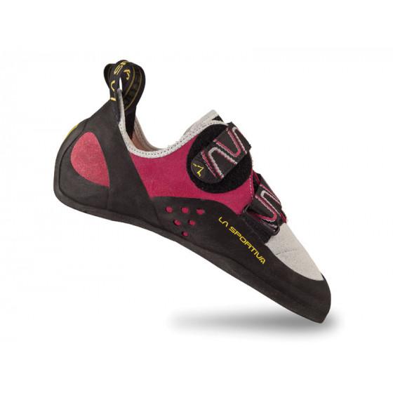 Женские универсальные скальные туфли для любого типа лазания La Sportiva Katana Woman Pink / White