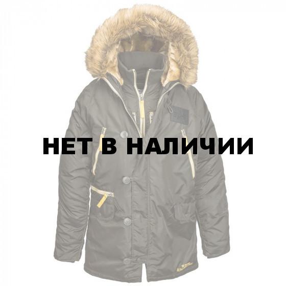 Куртка N-3B Inclement Parka Alpha Industries rep. grey