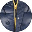 Куртка N-3B Transmitter Alpha Industries rep. blue/yellow