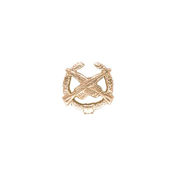 Эмблема петличная Мотострелковые войска повседневная металл