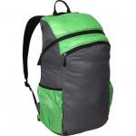 Рюкзак Pocket Pack pro 25 л серый/зеленый Si